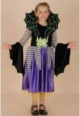 Disfraz Araña Niña Talla M
