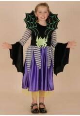 Disfraz Araña Niña Talla L