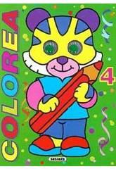 Livro Colorir com Olhos Susaeta S0316