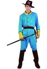 déguisement capitain confédéré homme Taille XL