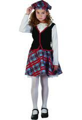 Déguisement Écossaise Fille Taille S