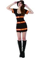 Costume Pompiere Donna L