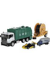 Camião Resíduos de Brinquedo 23 cm. Cm Veículo