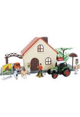 Ferme 12 Pièces avec Tracteur et Camion