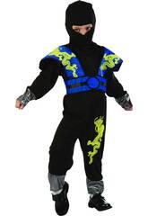 Maschera Ninja Drago Bebè Taglia S