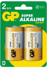 Blister 2 piles R20/D Alcalines G.P