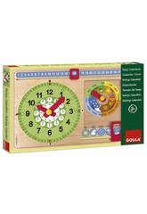 Reloj Calendario Catalan