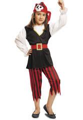 Déguisement Bébé L Pirate Tête de Mort