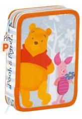 Plumier double petit Pooh