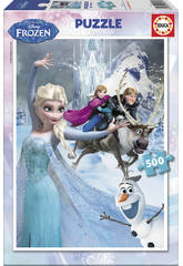 Puzzle 500 Frozen Educa 16267