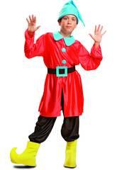 Disfraz Niño L Enanito Rojo