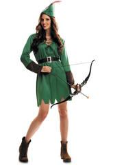 Disfraz Mujer L Robin Hood con Sombrero