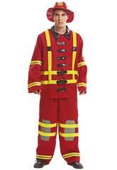 Costume Uomo L Vigile del Fuoco