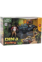 Dino Valley Dinosauro Con Statuetta