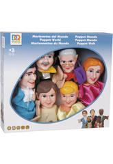 Marionnettes du monde 6 pièces