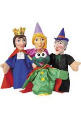 Marionnettes Contes Enfants 4 pièces