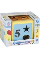 Cubo Actividades y Formas 18 Piezas 15cm