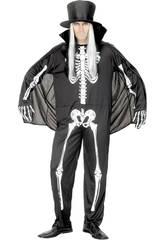 Esqueleto de fantasia homem tamanho L