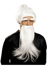 Peluca Y Barba de Fu Man Chu