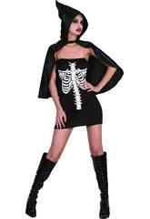 Déguisement Squelette Femme Taille L