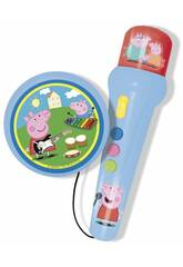 A Porqinha Peppa Microfone com Amplificador e Ritmos