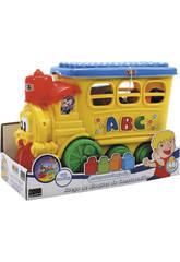Locomotiva Con Blocchi Di Costruzione