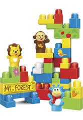 Cubo Block 42 pezzi Animali