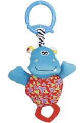 Peluche Mordedor Sonajero Hipopotamo