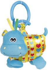 Peluche Baby Grincements Hipopotame
