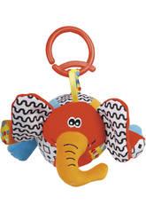 Peluche Baby Palla Elefante