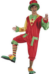 Costume Clown Papillon Uomo L