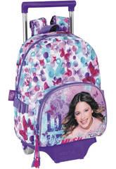 Zaino Trolley Violetta Butterfly