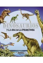 Buch Dinosaurier und Vorgeschichte-Leben Susaeta S0093