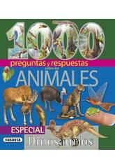 Livre 1 000 Questions et Réponses Animaux Susaeta S0097
