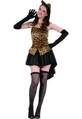Disfraz Leoparda Mujer Talla L