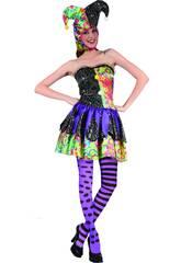 Disfraz Bufona Mujer Talla L