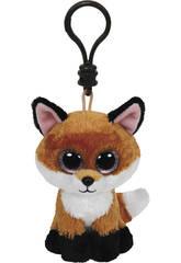 Peluche portachiavi Fox Asì 10 cm.