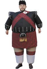 Aufblasbares Kostüm Schotte