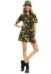 Disfraz Mujer L Soldado Mujer