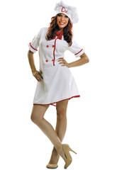 Disfraz Mujer XL Cocinera