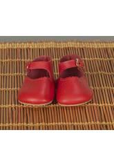 Zapato Merceditas Rojo