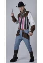 Maschera Cowboy Uomo Taglia XL