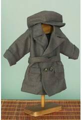 Manteau Gris avec casquette