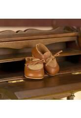 Zapato de Ante y Piel Marrón