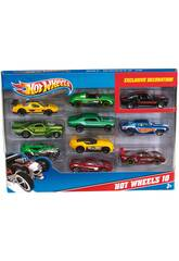 Hot Wheels pack 10 véhicules