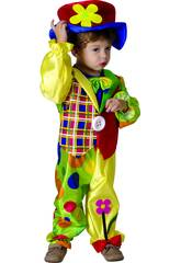 Disfraz Payaso para Bebé Talla M