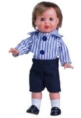 Mini Juanin Pérez Pantalon Bleu Marine Chemise Rayures