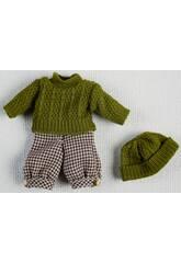 Mini Jersey Set und grüner Hut
