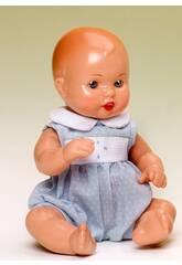 Mini Juanin Bebé Conjunto Topos Celeste Mariquita Pérez MJB05002