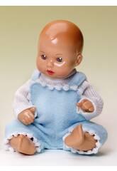 Mini Juanin Babydecke Mufflon Blau.